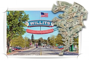 Willits Main St money