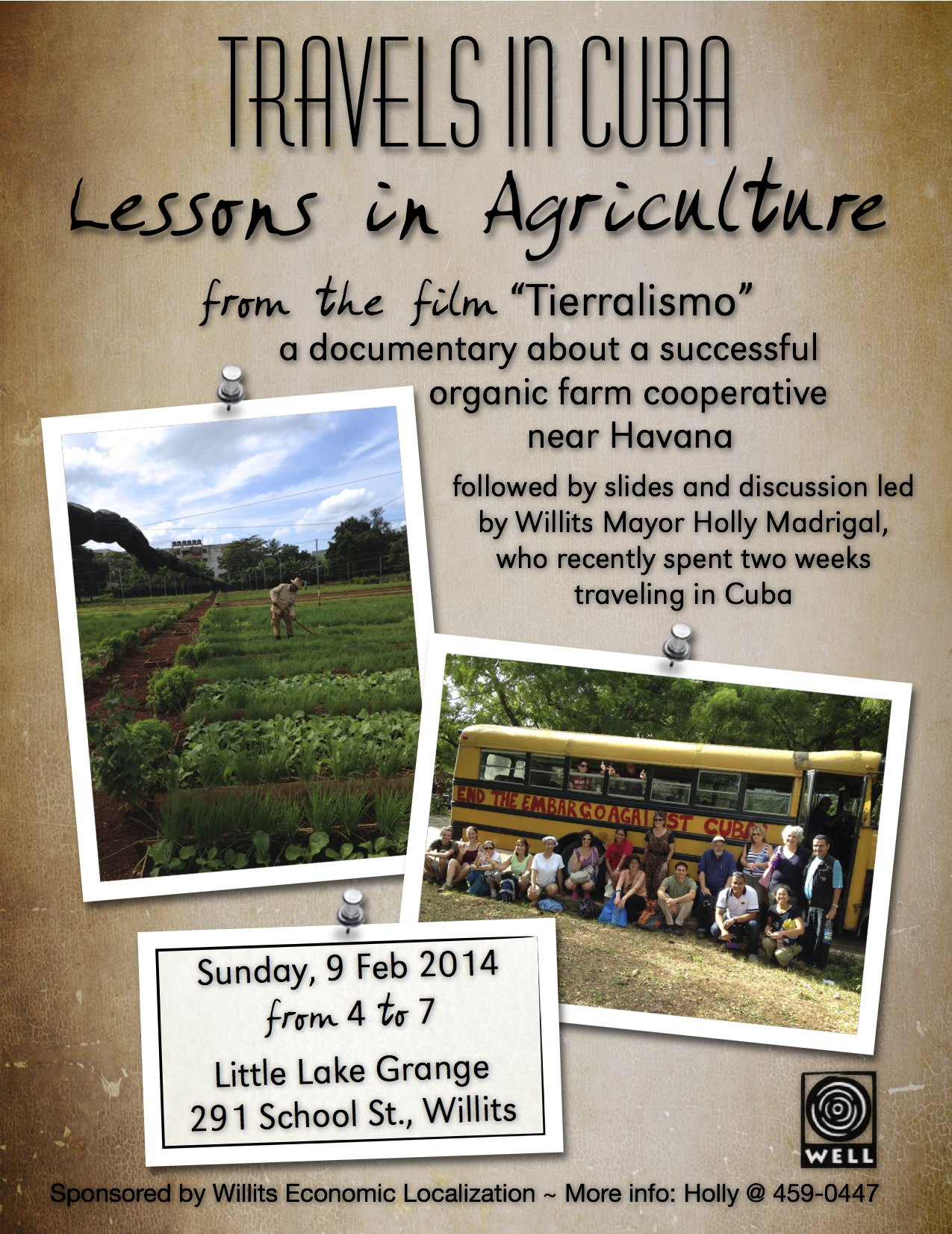 Travels in CUBA - Lessons in Agriculture